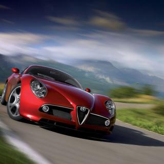 Alfa Romeo - Obrázkek zdarma pro 320x320