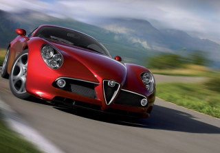 Alfa Romeo Background for Android, iPhone and iPad