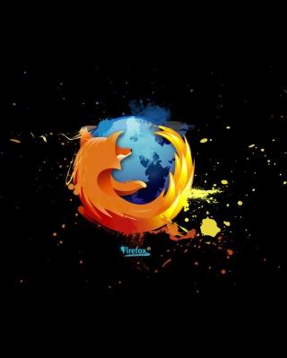 Firefox Logo - Obrázkek zdarma pro 480x640