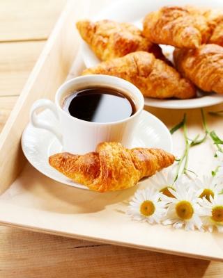 Breakfast with Croissants - Obrázkek zdarma pro iPhone 4