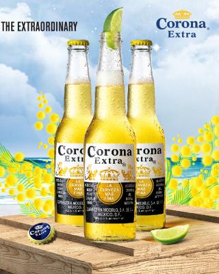 La Cerveza Corona - Obrázkek zdarma pro Nokia Asha 203