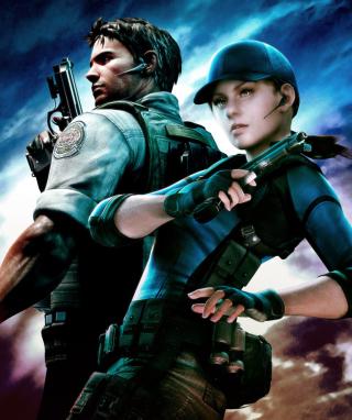 Resident Evil 5 - Obrázkek zdarma pro 128x160