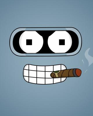 Futurama Bender Cigar - Obrázkek zdarma pro 1080x1920