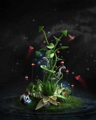 Photosynthesis - Obrázkek zdarma pro 320x480
