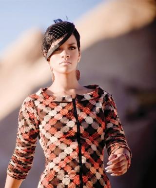 Stylish Rihanna - Obrázkek zdarma pro 176x220