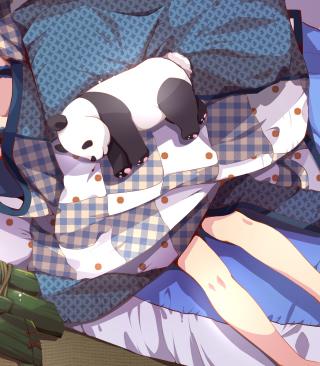 Sleeping Panda - Obrázkek zdarma pro Nokia Lumia 810