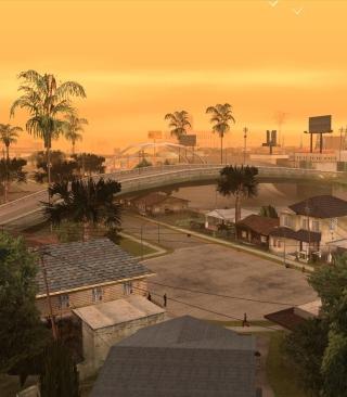 Los Santos - San Andreas - Obrázkek zdarma pro Nokia Lumia 810