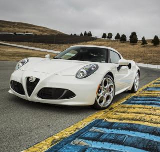 4C Alfa Romeo - Obrázkek zdarma pro 320x320