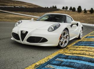 4C Alfa Romeo - Obrázkek zdarma pro 800x480