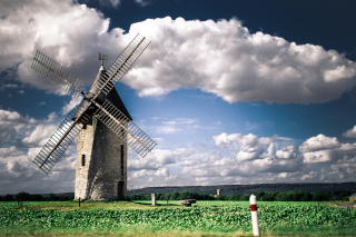 Windmill Wallpaper for Android, iPhone and iPad