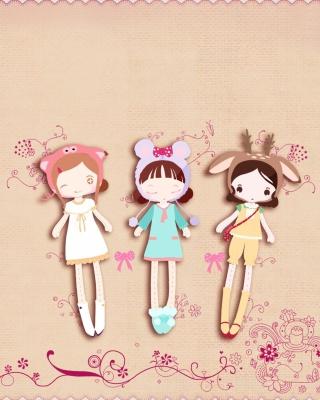 Cherished Friends Dolls - Obrázkek zdarma pro 176x220