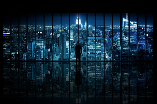 Gotham City Background for Android, iPhone and iPad