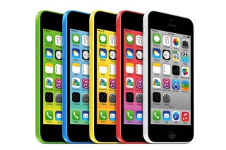 Apple iPhone 5c iOS 7 - Obrázkek zdarma pro Sony Xperia E1