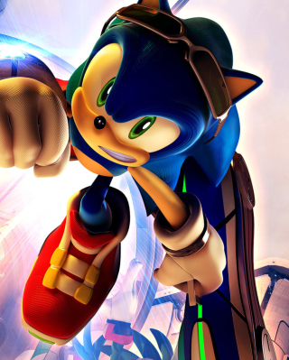 Sonic Free Riders - Obrázkek zdarma pro Nokia C-Series