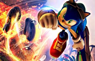 Sonic Free Riders - Obrázkek zdarma pro 1600x900