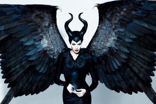 Angelina Jolie Maleficent - Obrázkek zdarma pro Samsung Galaxy S6 Active