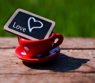 Mug with Heart - Obrázkek zdarma pro 2048x2048