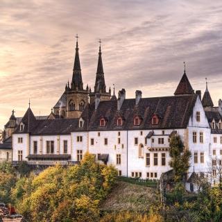 Neuchatel, Switzerland Castle - Obrázkek zdarma pro 320x320