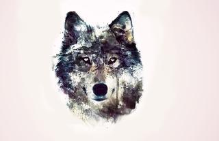 Wolf Art - Obrázkek zdarma pro Fullscreen Desktop 1280x960