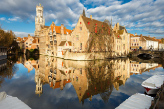 Brugge Background for Android, iPhone and iPad