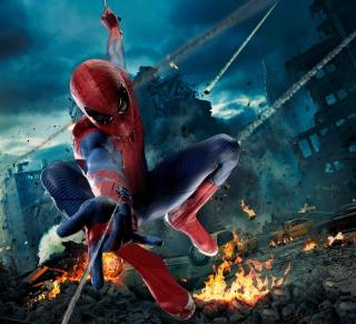 Avengers Spiderman - Obrázkek zdarma pro 1024x1024