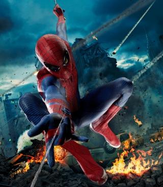 Avengers Spiderman - Obrázkek zdarma pro Nokia C5-05