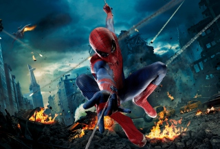 Avengers Spiderman Picture for Android, iPhone and iPad