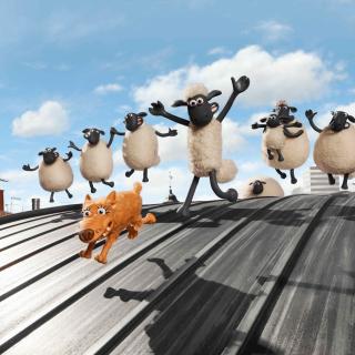 Shaun the Sheep Movie - Obrázkek zdarma pro 208x208