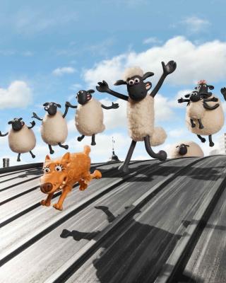 Shaun the Sheep Movie - Obrázkek zdarma pro Nokia Asha 501