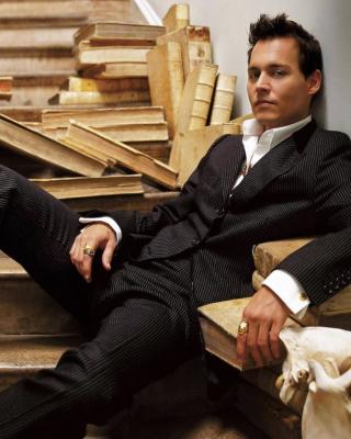 Johnny Depp - Obrázkek zdarma pro 240x432