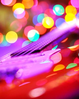 Bokeh Guitar - Obrázkek zdarma pro Nokia C7