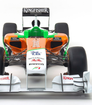Force India VJM04 - Obrázkek zdarma pro iPhone 4