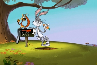 Bugs Bunny Cartoon Wabbit Wallpaper for Android, iPhone and iPad