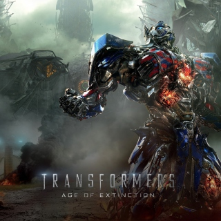 Transformers 4 Age Of Extinction 2014 - Obrázkek zdarma pro iPad 3