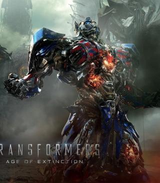 Transformers 4 Age Of Extinction 2014 - Obrázkek zdarma pro Nokia X2-02