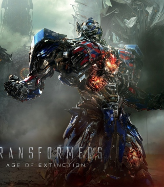Transformers 4 Age Of Extinction 2014 - Obrázkek zdarma pro Nokia C5-05