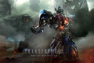 Transformers 4 Age Of Extinction 2014 - Obrázkek zdarma pro Android 640x480