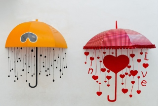 Love Umbrella Picture for Android, iPhone and iPad