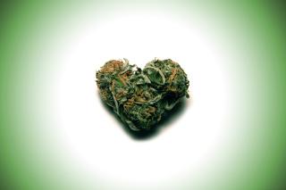 Weed Heart - Obrázkek zdarma pro HTC One
