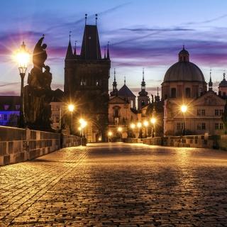 Prague Charles Bridge - Obrázkek zdarma pro 320x320