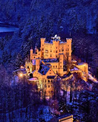 Hohenschwangau Castle - Obrázkek zdarma pro Nokia C2-00