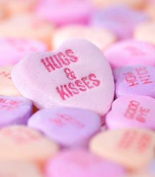 Hugs And Kisses - Obrázkek zdarma pro Nokia Lumia 610