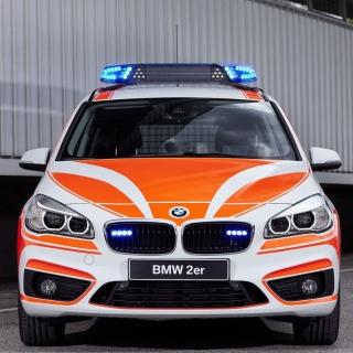 BMW 2 Police Car - Obrázkek zdarma pro iPad 3
