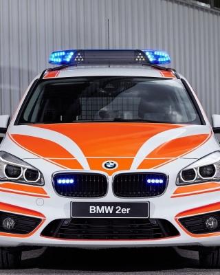 BMW 2 Police Car - Obrázkek zdarma pro Nokia Asha 202