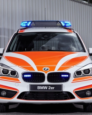 BMW 2 Police Car - Obrázkek zdarma pro iPhone 5S