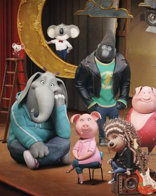 Sing Cartoon with Animals - Obrázkek zdarma pro Nokia C1-01