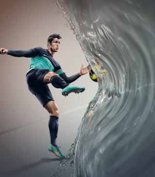 Cristiano Ronaldo, Real Madrid - Obrázkek zdarma pro Nokia Asha 305