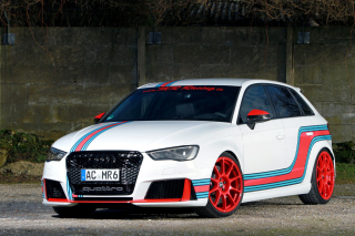 MR Car Design Audi RS 3 Sportback Background for Android, iPhone and iPad
