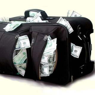 Case with Dollars - Obrázkek zdarma pro 1024x1024