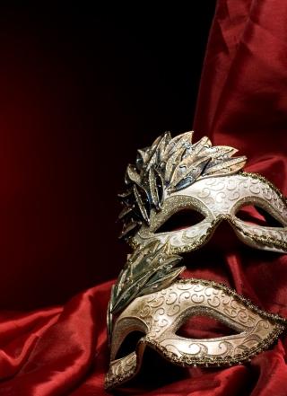 Two Beautiful Masks - Obrázkek zdarma pro Nokia Asha 503